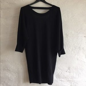 Club Monaco Swearer Dress with Exposed Back