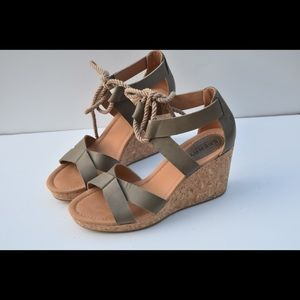 Sperry top sider wedges