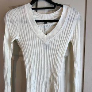 White Express Sweater