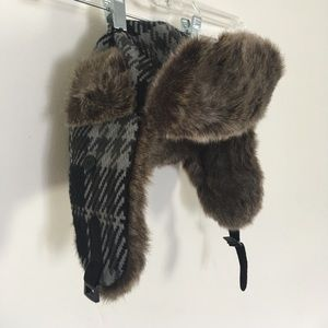 Faux Fur Trapper Hat