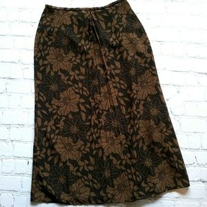 J.Crew 🍁 Fall 🍁 Long Midi Skirt Sz 6