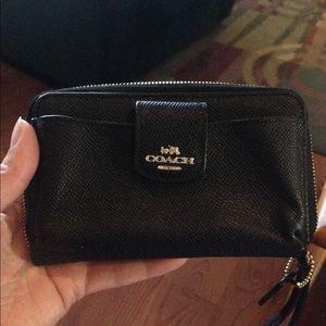 NWOT coach wristlet/wallet