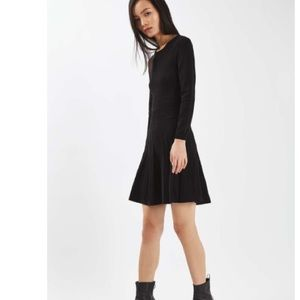 New Topshop Fit and Flare Sweater Dress size 6