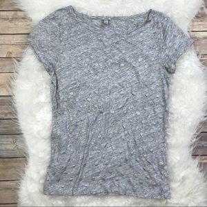 J. Crew Vintage Cotton Cap Sleeve T-Shirt in Dots