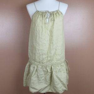 J. Crew Dress 100% Linen Small Lightweight
