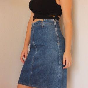 Vintage Bongo Denim Skirt