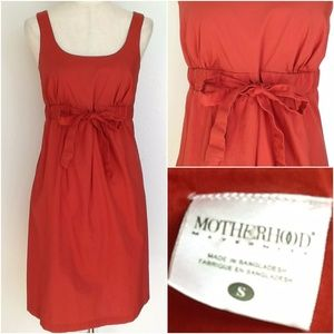 Motherhood Maternity Fall Sleeveless Dress S