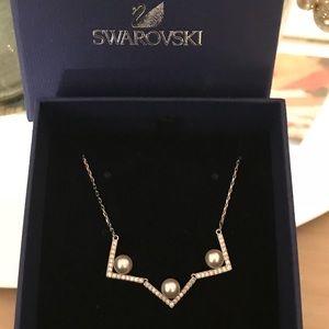 New Swarovski Edify Medium Necklace