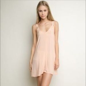 Brandy Melville Blush Pink Selma Dress