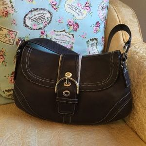 Coach Leather Soho Flap Purse