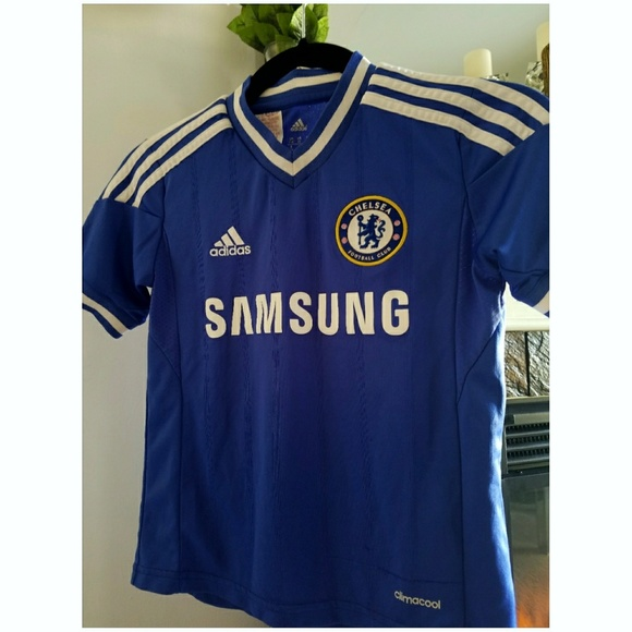 1e916cb49 adidas Shirts & Tops | 2g1 Chelsea Home Soccer Jersey | Poshmark