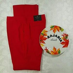 Worthington Red Pants. NWT. Size 10