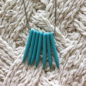 Mid-length Turquoise Necklace