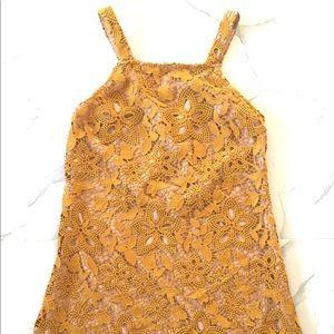 Gorgeous Golden WAYF Dress
