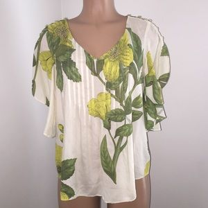 Maeve Anthropologie Maya Blouse  Batwing Sleeve
