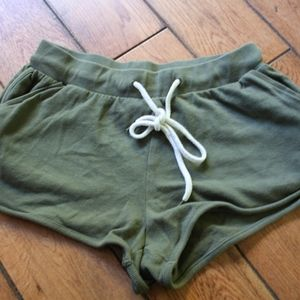 Small Forever 21 Army Green Shorts