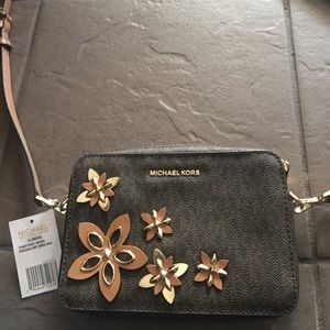 Coach Flowers Camera Crossbody