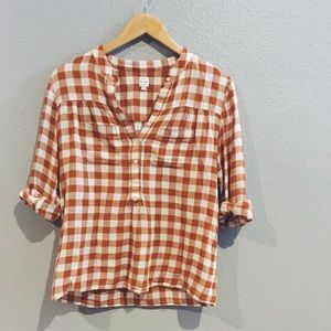 MADEWELL gingham button down