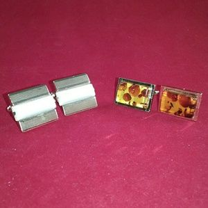 Other - Retro Cuff Links - 2 Pairs