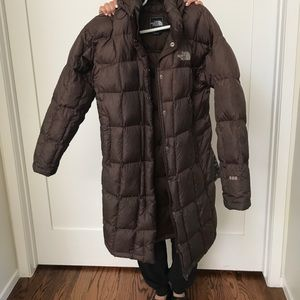 North Face long Winter/ puffy Coat