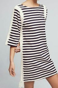 PEPIN Anthropologie Nautical Crochet Dress