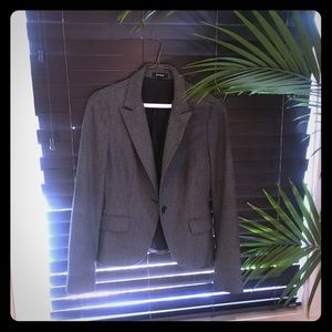 Dark grey winter blazer jacket from Express sz 4