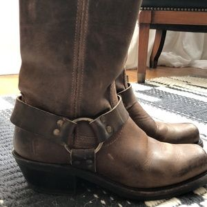 Frye Harness Boots 12r