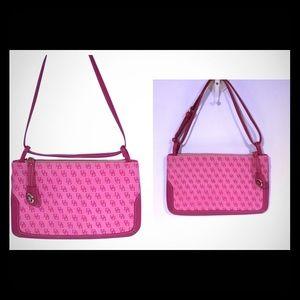 Dooney&Bourke pink signature bag