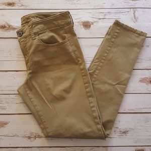 american eagle outfitters stretch jeggibhs sz 6s