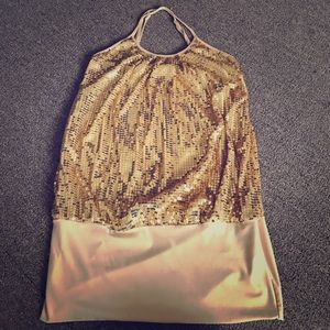 Sexy Gold Dress!
