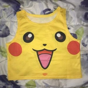 ⚡️ Pikachu Crop Top ⭐️