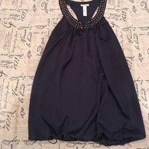 Forever xxi mini bubble dress w/ studded racerback