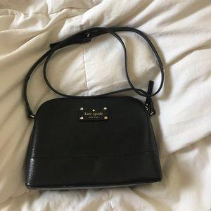 Black Kate Spade Hanna Bag