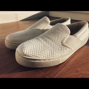 Top shop All White Slide On Shoes