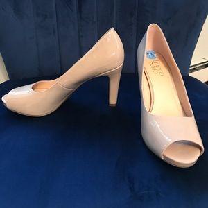 Franco Sarto nude heels.