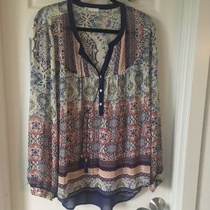 DR 2 from Nordstrom XL blouse top