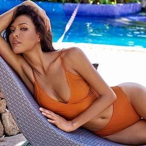 Other - MALIBU Burnt Orange High Rise Bikini Set