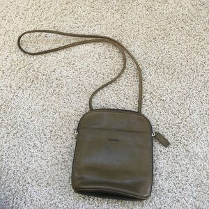 Fossil cross body purse. Used once