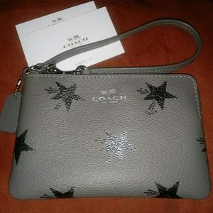 Authentic NWOT Coach Wristlet