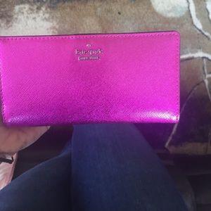 Purple/Pink Kate Spade Wallet