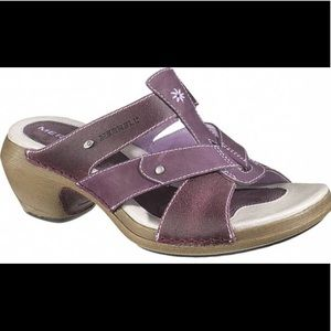 Merrell luxe Viola Leather Slide Sandals