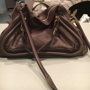 ChloeParatayTopHandleBag Leather Large(Authentic)
