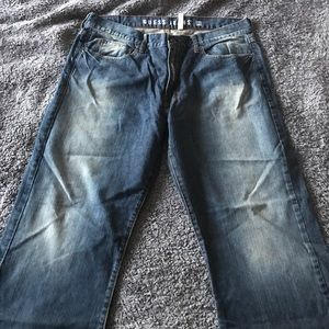 Guess boot cut jeans like new size 38 cliff