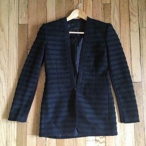 BCBGMaxAzria Lawson Textured Tuxedo Jacket XS