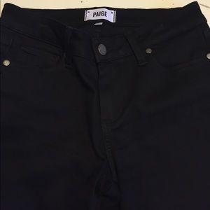 Paige verduga ultra skinny jeans in black 27