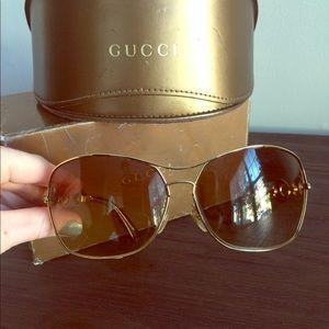 authentic vintage Gucci sunglasses