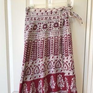 Vintage 60s/70s Wraparound Skirt