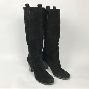 BCBGeneration black MORCH leather tall boots, 8