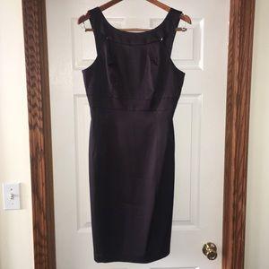 David Meister black dress