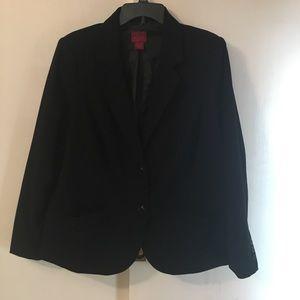 212 Collection 16W Black Blazer